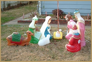Build An Outdoor Nativity Stable